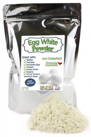Dehydrated Egg White Powder, 2Lbs Dried Powdered Egg Whites, Stay Fresh Zipper