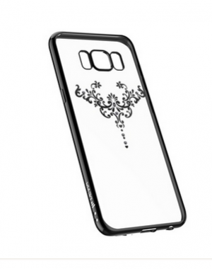 Devia Crystal Iris soft TPU case with crystals for Samsung Galaxy S8 +
