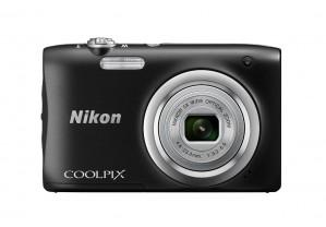 Nikon Coolpix A100 Point and Shoot Digital Camera (Black)
