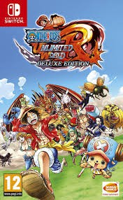 Nintendo Switch One Piece Unlimited World Red -deluxe Edition (Pal)