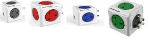 Powercube Original  UK Power Adapter With USB