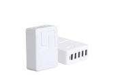 Porodo 5-ports Usb Charging Hub With Uk-Plug