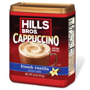 Hill's Bro's cappuccino french vanilla 16oz
