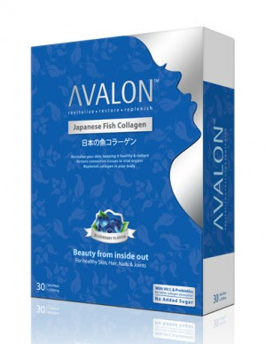 Avalon Japanese Fish Collagen (Blueberry Flavour)