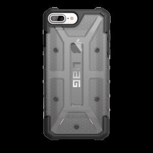 UAG iPhone 7/6S Plus (5.5 Screen) Plasma Case-Ash/Black-Visual Packaging IPH7/6SPLS-L-AS