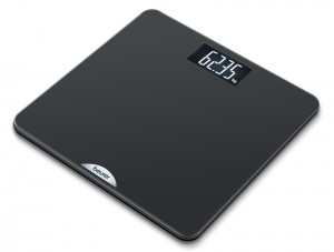 Beurer PS240 Soft Grip Acrylic Electronic Bathroom Scales