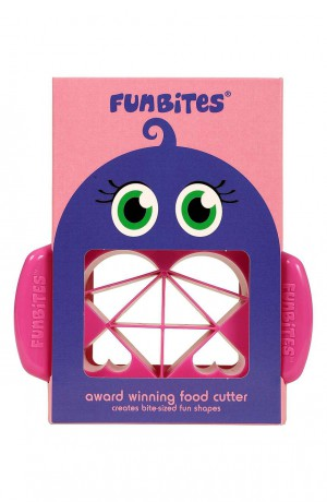 FunBites Pink Sandwhich/Food Cutter Heart Shaped - FB-2001