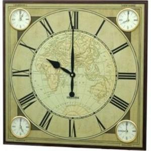 Rhythm Wooden Wall Clocks - CMW904NR06