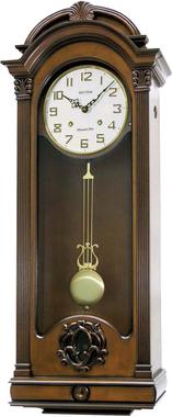Rhythm Wsm Palermo Musical Wooden Wall Clock CMJ397CR06