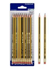 Staedtler-Noris Pencil With Rubber Tip. Pack of 12pcs.
