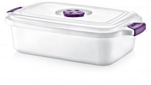 Home Design Rect. Saucepan 2.3Lt. - SA-680