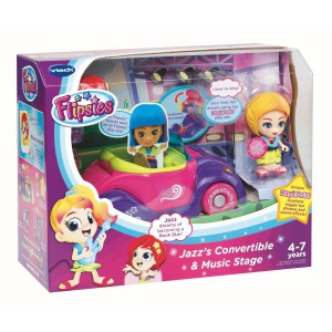 VTech Flipsies - Jazz's Convertible & Stage - 159903