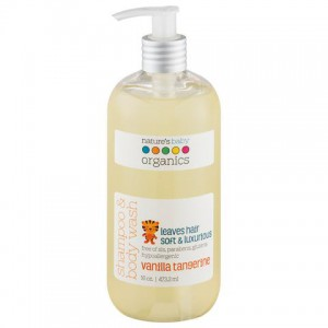 Natures Baby - Shampoo & Body Wash - Vanilla / Tangerine 16 Oz