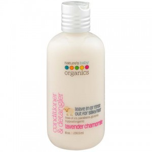 Natures Baby - Conditioner & Detangler Lavender Chamomile 8oz