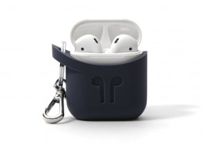 Pod Pocket Silicon Case for Airpods-Indigo Blue