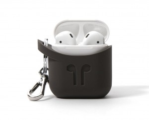 Pod Pocket Silicon Case for Airpods-Cocoa Grey