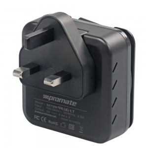 Promate smartPlug-LT 4.4A Ultra-Fast Home Charger