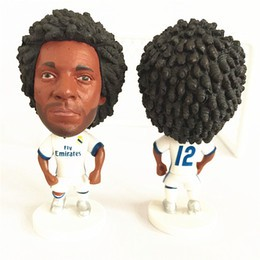 "Football # 12 MARCELO (RM) Toy Doll Figure 2.5 ""Soccer Player Dolls"