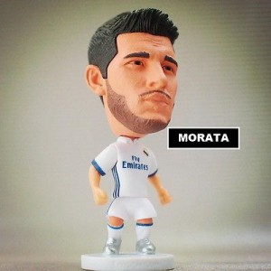 Statuina doll ALVARO MORATA #21 REAL MADRID 2017 La liga action figure