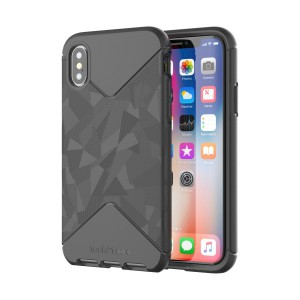 Tech21 Evo Tactical Case for iPhone X (Black) - T21-5858