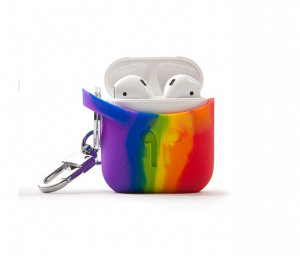 Pod Pocket Silicon Case for Airpods-Limited Edition - Techni color