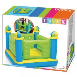 Intex Jr. Jump-o-lene Castle Bouncer, Ages 3-6 - 48257
