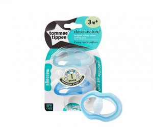 Tommee Tippee Closer to Nature Stage 1 Teether x2 #TT43645010