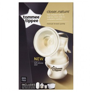 Tommee Tippee Closer to Nature Manual Breast pump #TT423415