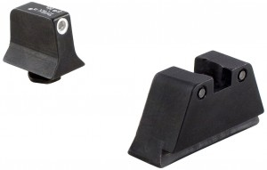 Trijicon Suppressor White Outline Front Night Sight Set for Glock Models