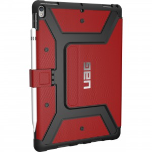 "Urban Armor Gear Metropolis Case for iPad Pro 12.9"" - Magma (Red) IPDP12G2-E-MG"