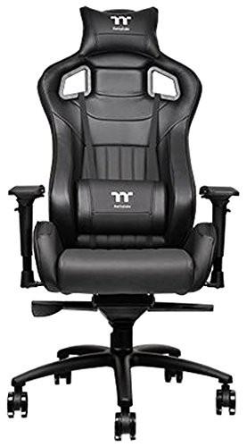 Thermaltake Tt eSPORTS X Fit XF100 Racing Bucket Seat Style Ergonomic Gaming Chair Black GC-XFS-BBMFDL-01
