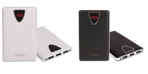 Spass Smart External Power Bank (Available in Black & White Color ) - K6 SMART