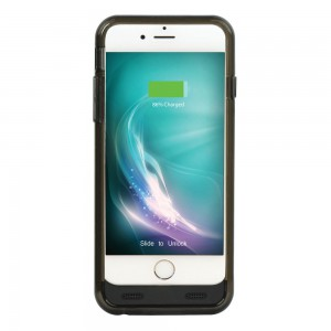 Promate vioCase-i6 2400mAh Battery Case with Detachable Bumper for Iphone 6/6S-Black