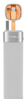 Mipow MFI - Smart Power tube 3000 - with lightning connector + JuiceSync App V2 (Grey)