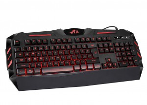 Rii RK900 7 Colors Rainbow LED Backlit Mechanical Feeling USB Wired Multimedia Gaming Keyboard