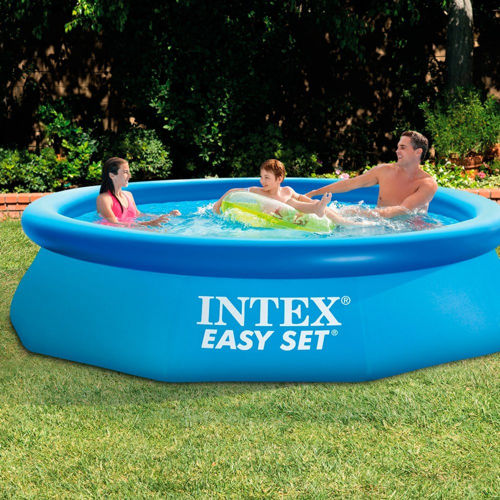 intex easy set swimming pool 28120 10 x 30 buy online. Black Bedroom Furniture Sets. Home Design Ideas