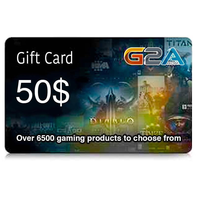 G2A Gift Card 50$ | Buy Online | Ubuy Kuwait