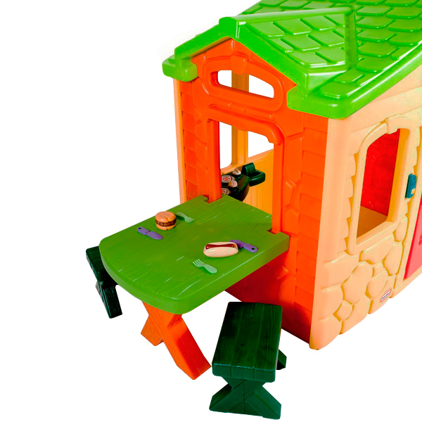 Little Tikes Picnic On The Patio Playhouse Natural 172298 Buy