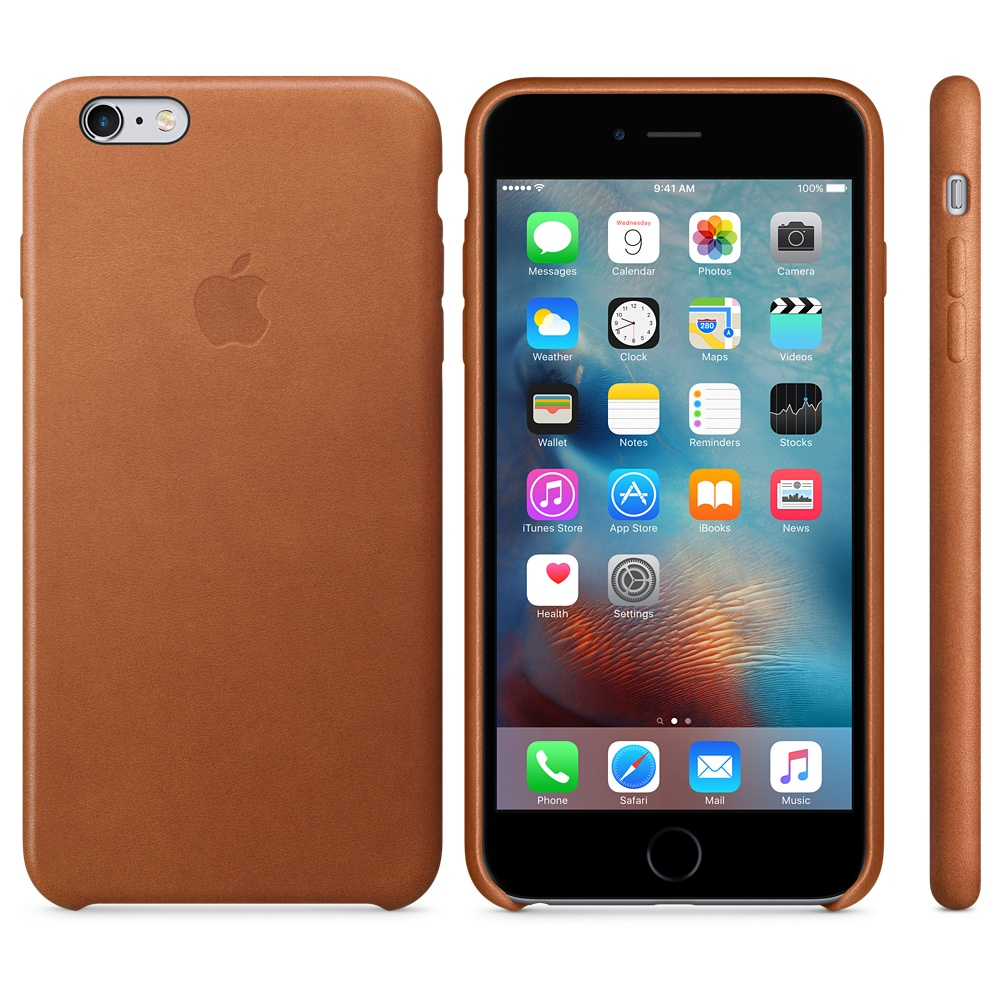 apple iphone 6 plus case leather