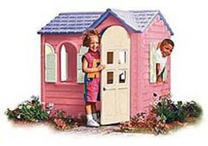 Cosy Little Tikes Home Garden Playhouse. The tall door frame is great for growing children  ensuring this cosy little cottage will delight kids years to come Little Tikes Country Cottage Pink 440R Buy Online Ubuy Kuwait