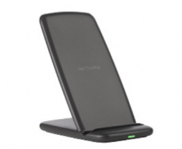 Wireless Charger Fast Charging Stand Holder Dock for Samsung and iPhones - Black