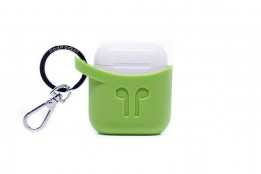 Pod Pocket Silicon Case for Airpods-Pear Green