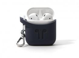 Pod Pocket Silicon Case for Airpods-Indigo Blue