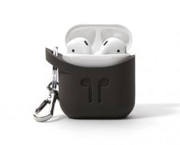 Pod Pocket Silicon Case for Airpods-Cocoa Grey