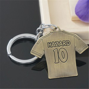 FC Chelsea Hazard football soccer metal Key Chain