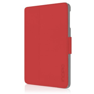 Incipio IPAD-309 Lexington for iPad mini - Scarlet Red/Light Gray