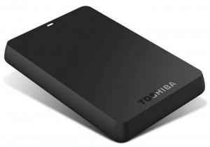 Toshiba HDTB120EK3CA 2TB 2.5 inch Basics USB 3.0 External Hard Drive
