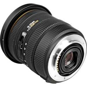 Sigma Lens 10-20MM F3.5 EX DC HSM (Canon)82