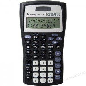 Texas Instruments Calculator 30X IIS