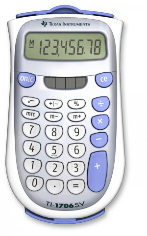 Texas Instruments Calculator - 1706SV